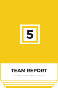 the team strengths report
