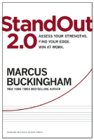 StandOut 2.0: Assess Your Strengths. Find Your Edge. Win at Work